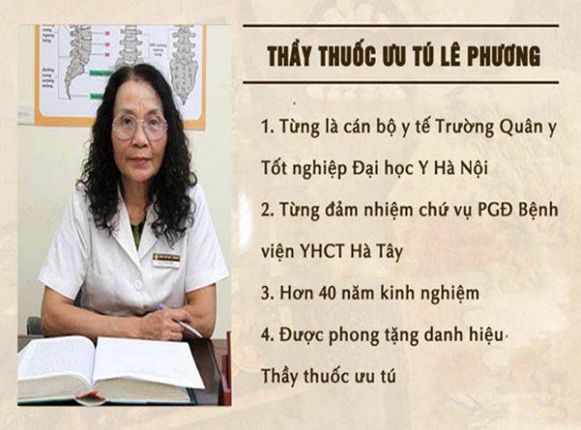 Bác sĩ Lê Phương chữa viêm amidan