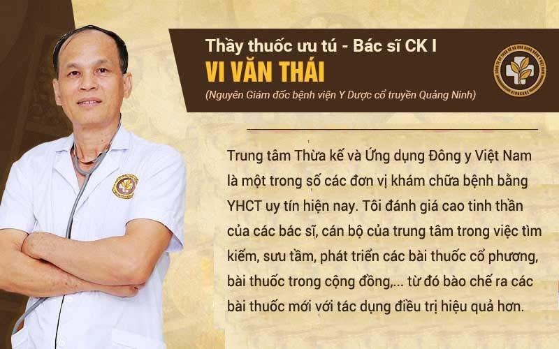Bác sĩ Thái đánh giá trung tâm