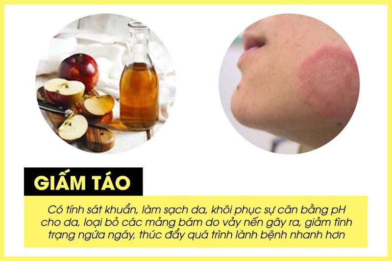Giấm táo có nhiều tác dụng trong giảm triệu chứng bệnh