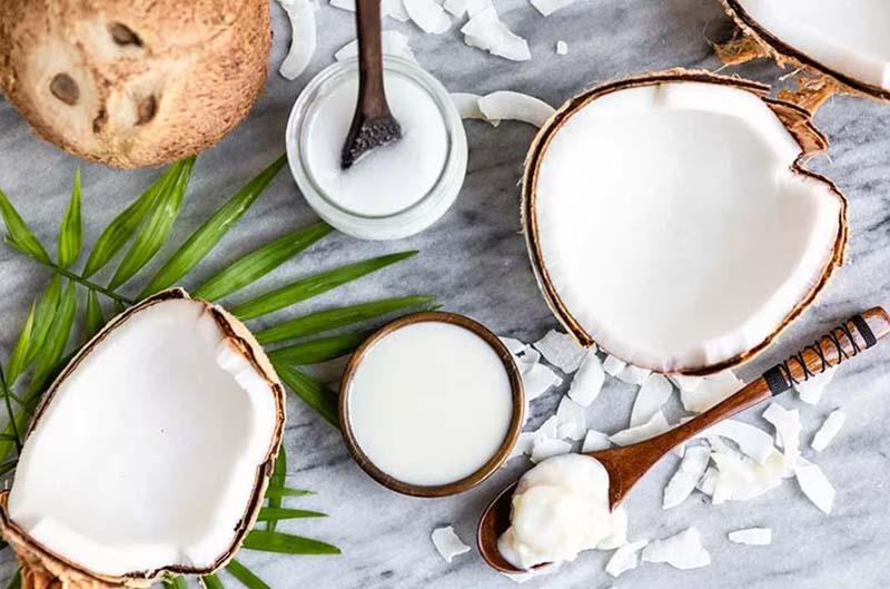 Dầu dừa có nhiều công dụng tốt trong chữa bệnh vảy nến