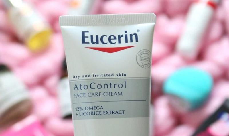 Kem Eucerin Ato Control trị dị ứng da mặt