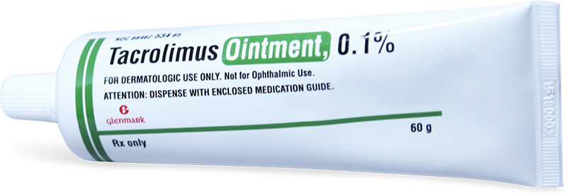 Thuốc bôi trị vảy nến Tacrolimus 0,1%