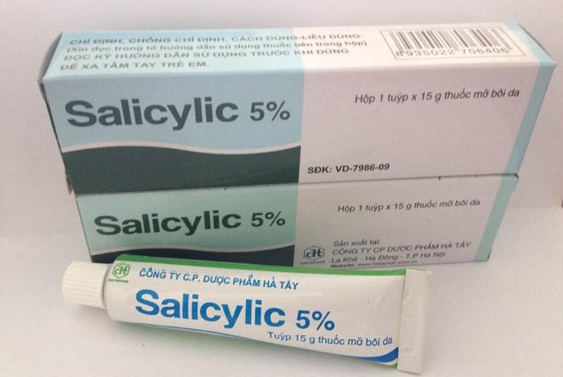 Axit Salicylic có gái thành rẻ, mang lại hiệu quả cải thiện bệnh vảy nến tốt