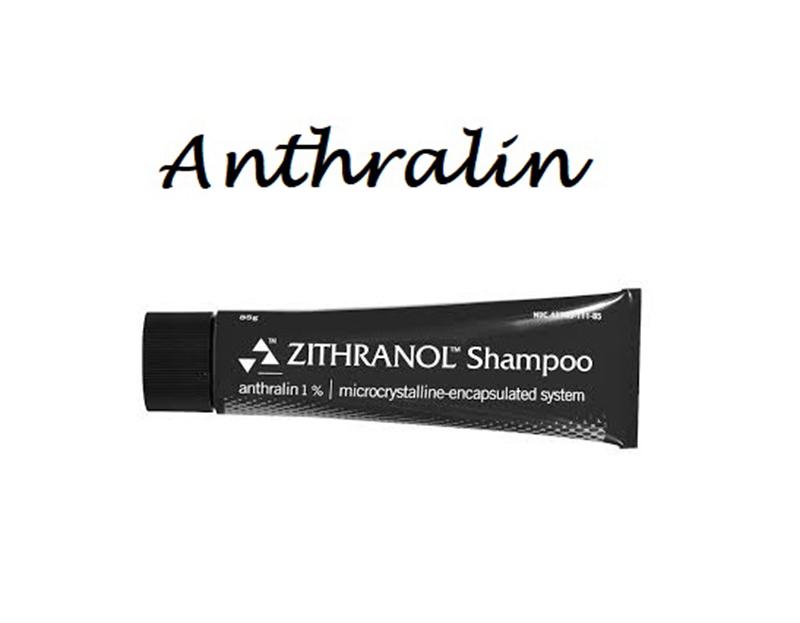 Sử dụng Anthralin dạng dầu gội cho trường hợp vảy nến da dầu