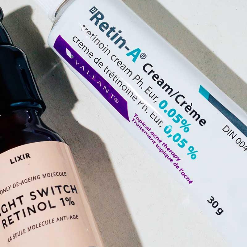 Các chế phẩm Retinoid có thể gây ích ứng da và tăng độ nhạy cảm với ánh sáng mặt trời