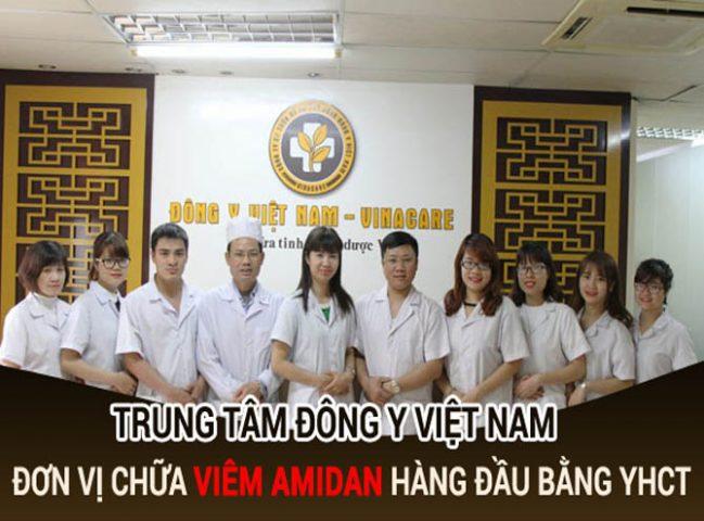 Trung tâm Đông y Việt Nam chữa viêm amidan