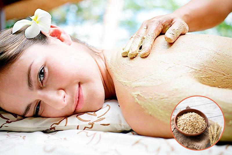 Tắm bột yến mạch là một giải giảm làm giảm sưng viêm tại chỗ rất tốt cho người bị vảy nến