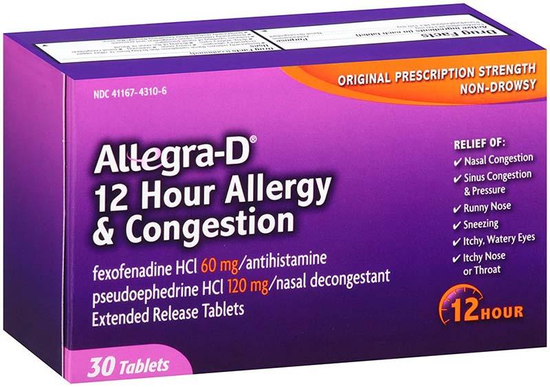 Viêm mũi dị ứng ở trẻ em dùng thuốc gì? - Nên dùng thuốc Allegra Allergy