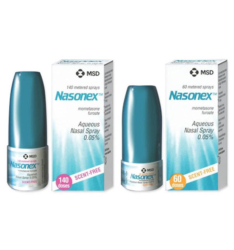 Thuốc Nasonex 0,05%có thể dùng cho trẻ dưới 2 tuổi