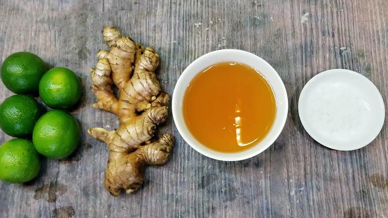 Các nguyên liệu tự nhiên như chanh, tỏi, mật ong có hiệu quả tốt trong điều trị bệnh