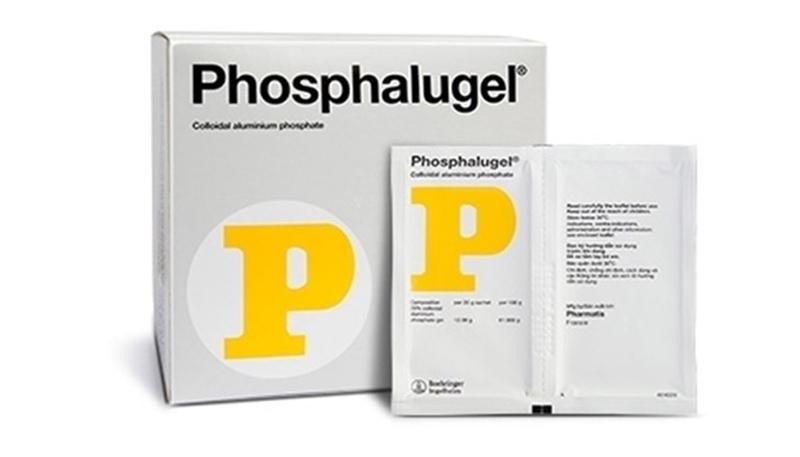 Phosphalugel được sử dụng thường xuyên để bao niêm mạc dạ dày trong các trường hợp trào ngược