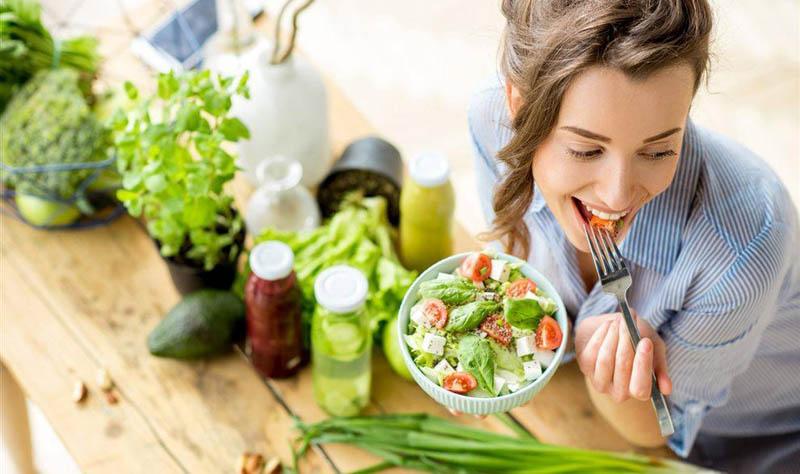 Ăn nhiều rau xanh tốt cho cơ thể