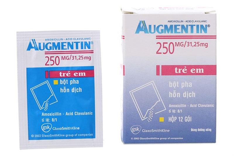 Augmentin là kháng sinh được sử dụng nhiều trong điều trị viêm xoang