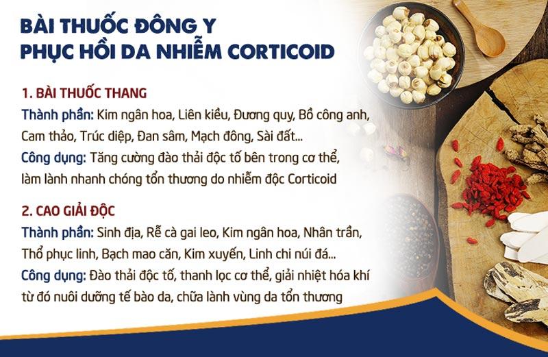 Bài thuốc kết hợp để thải độc của Trung tâm Da liễu Đông y Việt Nam