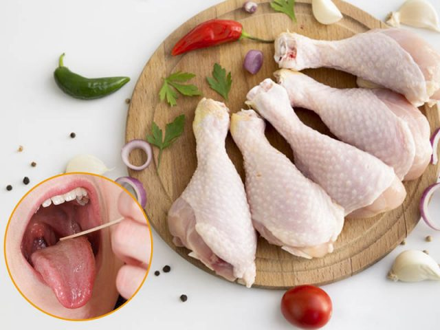 Thịt gà giúp hỗ trợ quá trình hồi phục bệnh viêm amidan hiệu quả