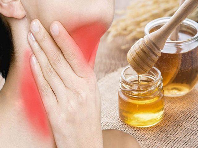9 Cách chữa viêm amidan từ mật ong