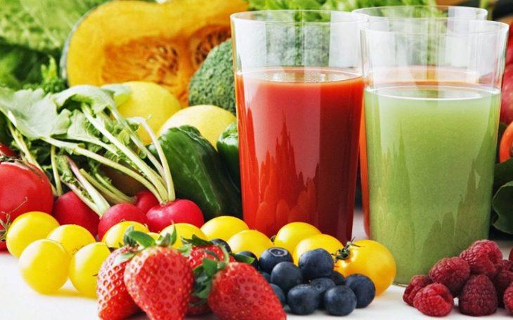 Tăng cường sử dụng các loại thực phẩm giàu chất xơ, vitamin giúp da phục hồi tốt hơn