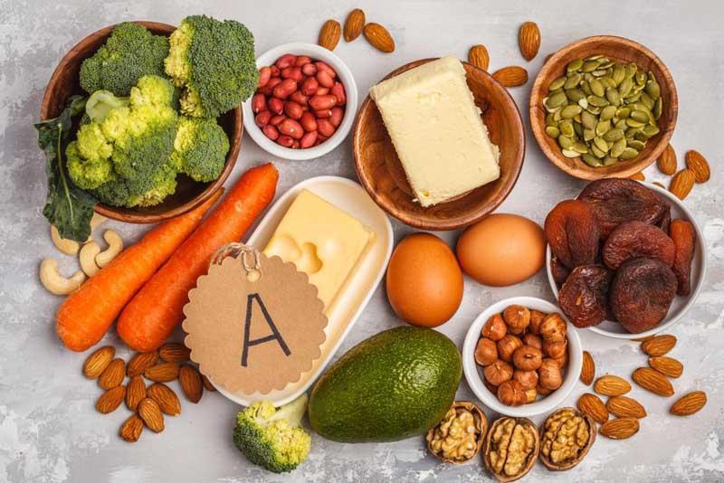 Bị dị ứng da mặt nên ăn gì? - Nhóm thực phẩm giàu vitamin A