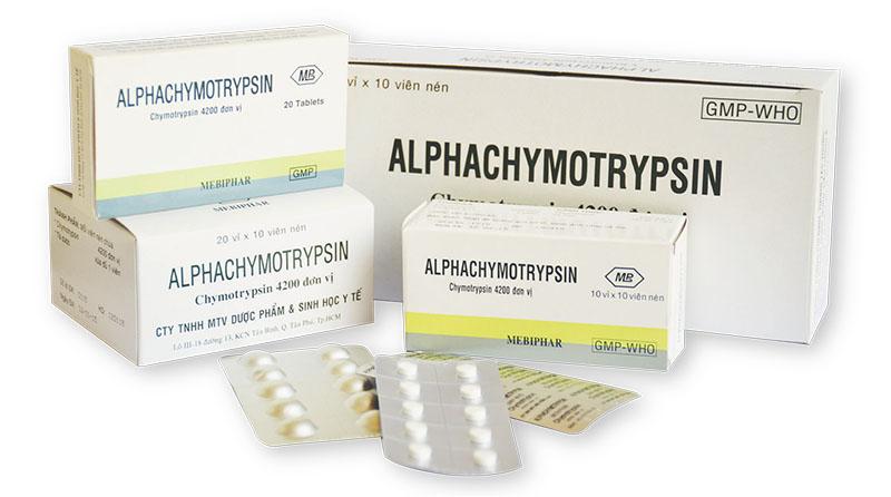 Thuốc trị viêm amidan có tác dụng chống phù nề