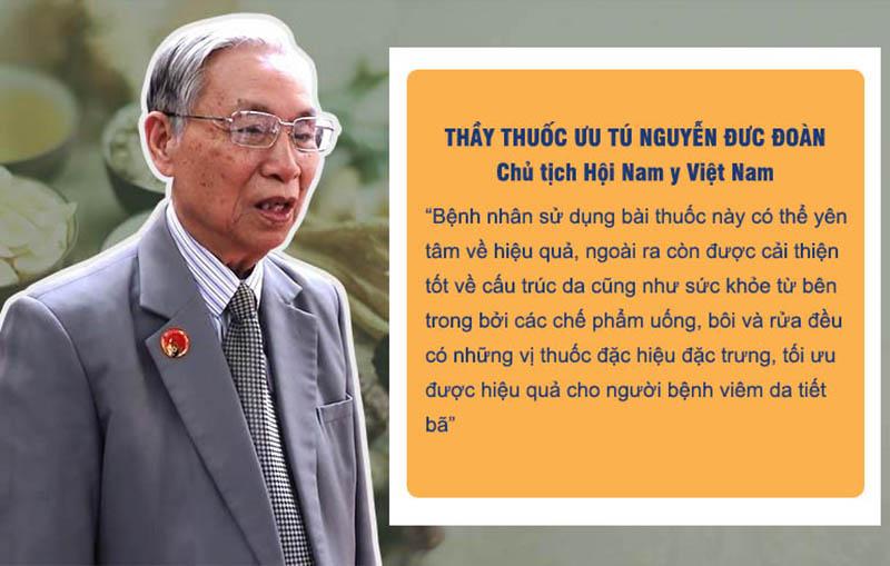 """An Bì Thang nhận được nhiều đánh giá cao từ những bác sĩ, thầy thuốc """"lão làng"""" trong giới YHCT"""