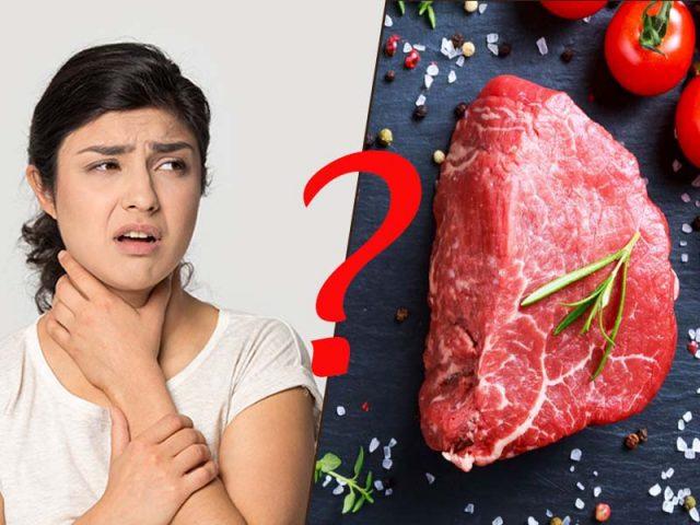 Viêm amidan có ăn thịt bò được không
