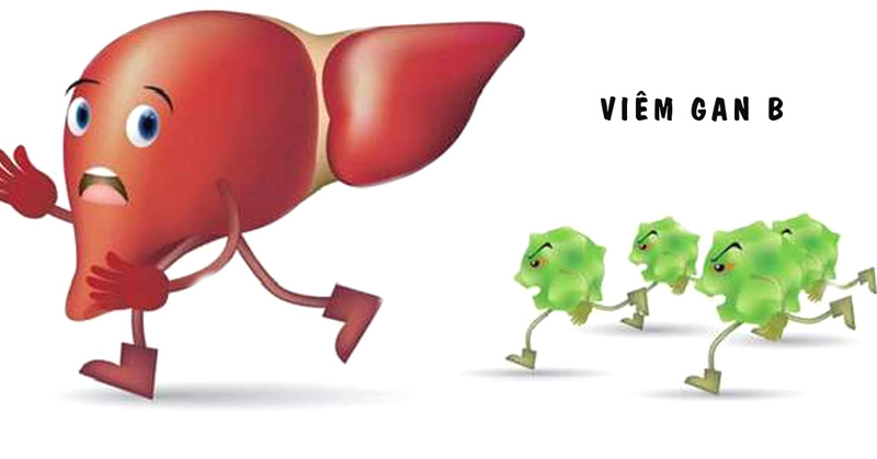 Viêm gan B khiến gan bị xơ, chất độc tích tụ gây nổi mẩn đỏ