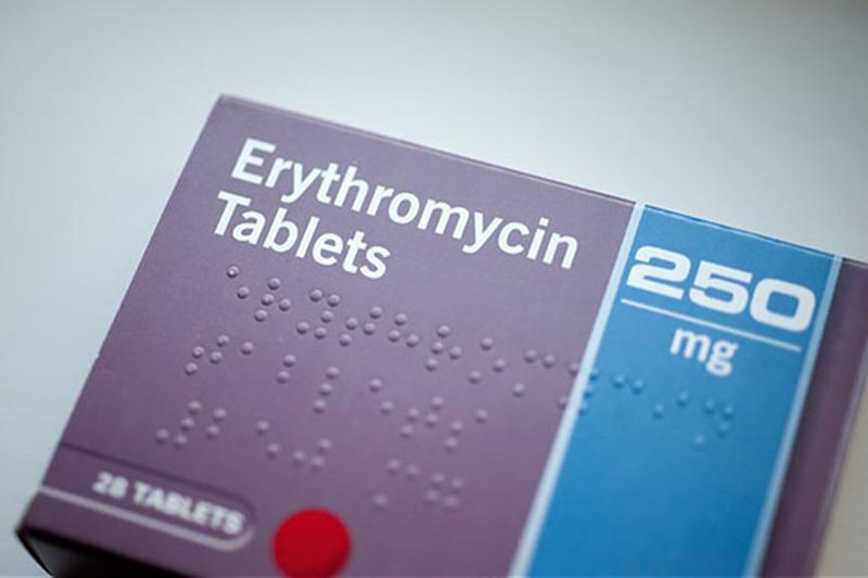 Erythromycin được sử dụng để thay thế trong các trường hợp bệnh nhân dị ứng Penicillin