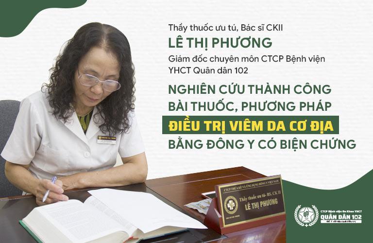 Bác sĩ Lê Phương chữa viêm da cơ địa