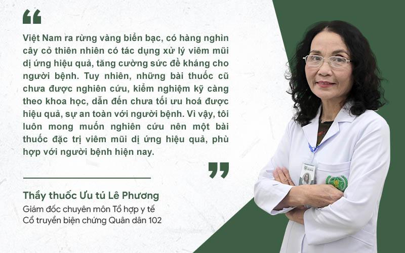 Bác sĩ Lê Phương không ngừng nghiên cứu, tìm kiếm giải pháp điều trị viêm xoang toàn diện
