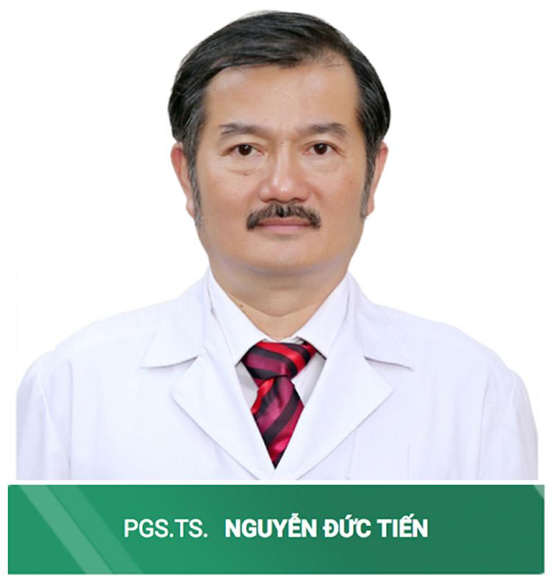Bác sĩ Nguyễn Đức Tiến với nhiều kinh nghiệm trong điều trị bệnh viêm da cơ địa