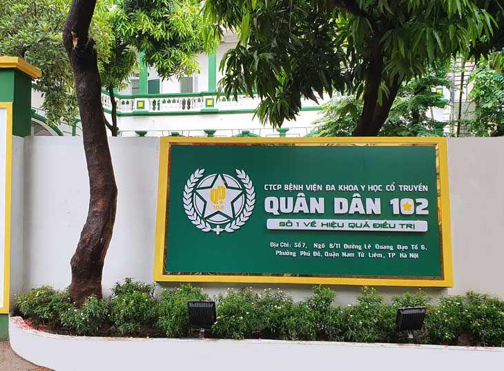 Bệnh viện YHCT Xương khớp Quân Dân 102 ra đời với sứ mệnh chăm sóc xương khớp cho toàn dân
