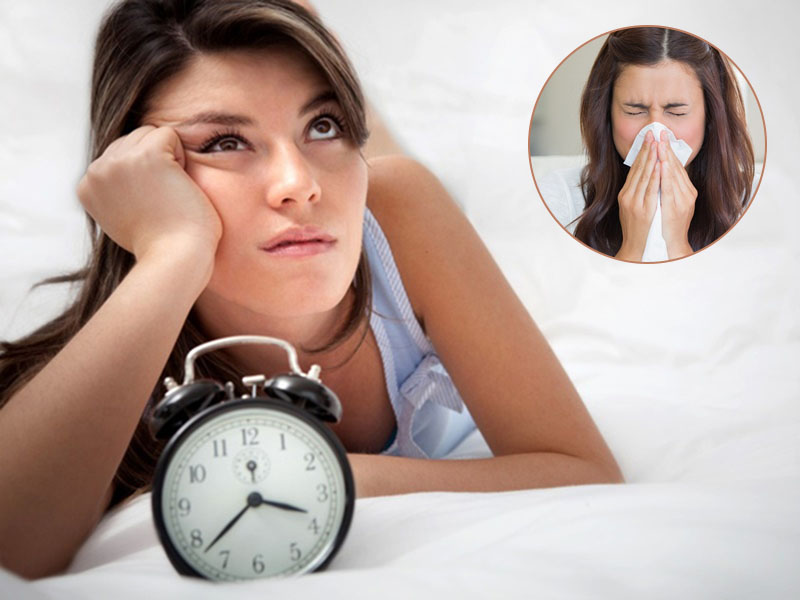 Viêm xoang gây mất ngủ là tình trạng phổ biến, gây ảnh hưởng rất nhiều đến cuộc sống người bệnh
