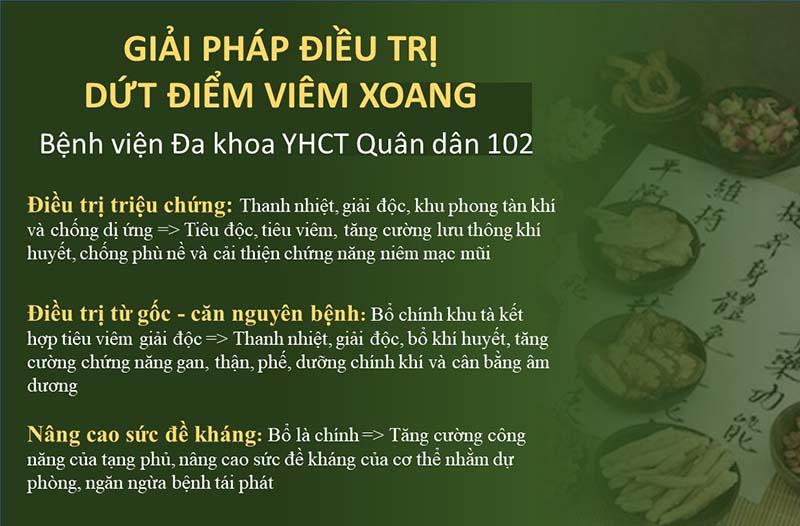Giải pháp điều trị viêm xoang 3 trong 1 của Bệnh viện Tai Mũi Họng Quân dân 102