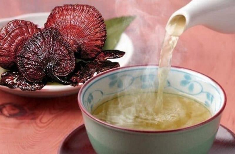 Nước thuốc sắc từ nấm lim xanh giúp ổn định huyết áp