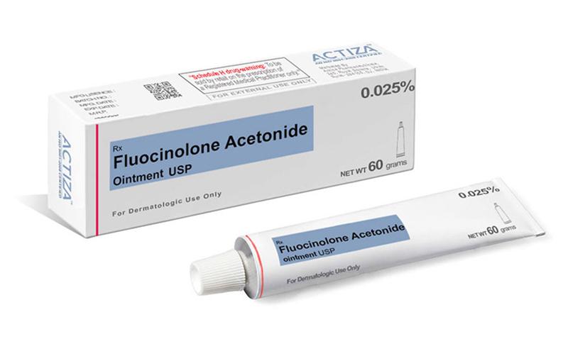 Thuốc mỡ Fluocinolone Acetonide 0,025%