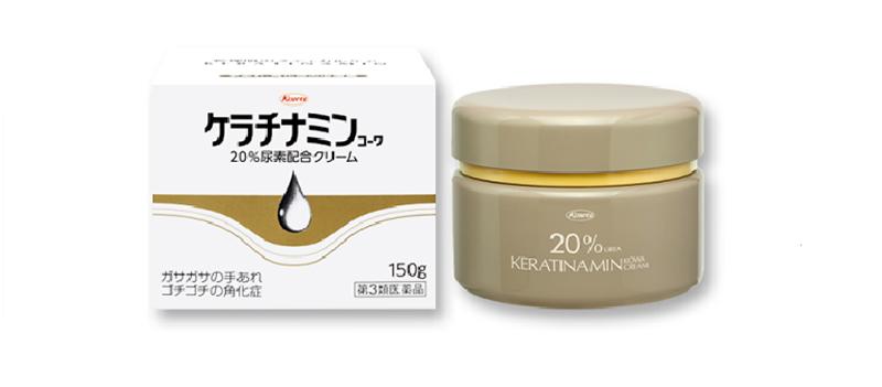 Keratinamin là một loại kem chuyên trị các vấn đề da liễu nổi tiếng của Nhật Bản