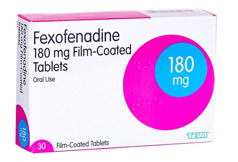 Thuốc trị nổi mề đay Fexofenadine