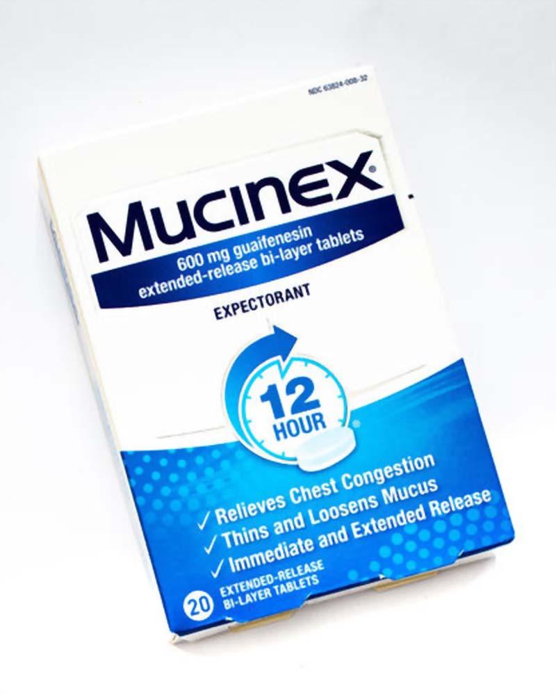 Thuốc Guaifenesin có tác dụng làm loãng dịch nhầy giúp mũi thông thoáng