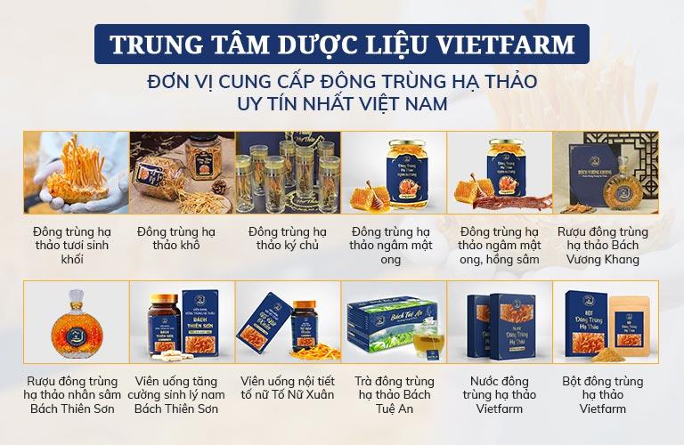 Trọn bộ sản phẩm ĐTHT Vietfarm