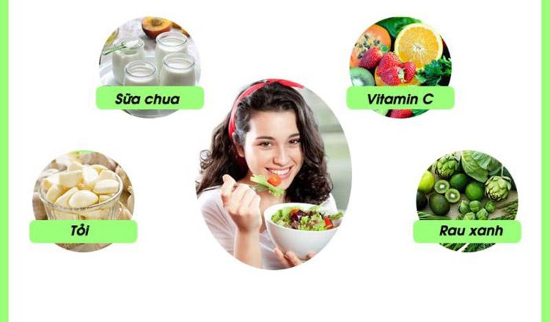 Người bị viêm xoang hàm cần bổ sung nhiều vitamin, các chất nâng cao sức đề kháng