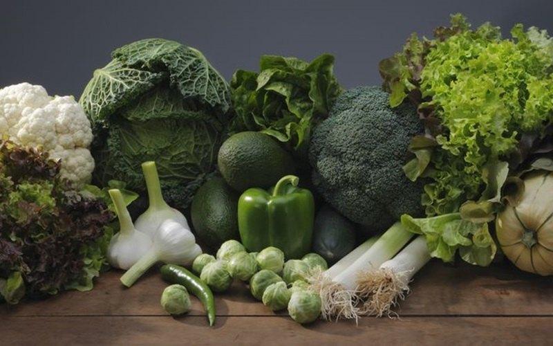 Bổ sung các loại rau xanh giúp cải thiện chức năng tiêu hóa, làm dịu triệu chứng của viêm hang vị dạ dày