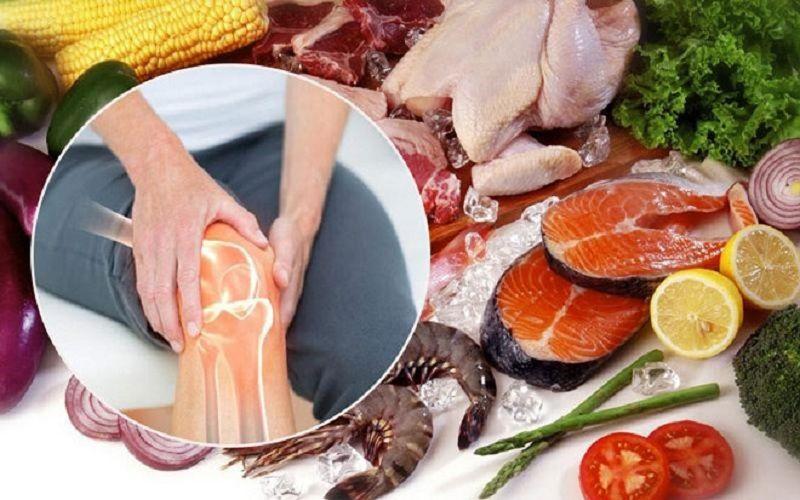 Đau khớp gối kiêng ăn gì và nên ăn gì có ảnh hưởng trực tiếp tới tình trạng bệnh