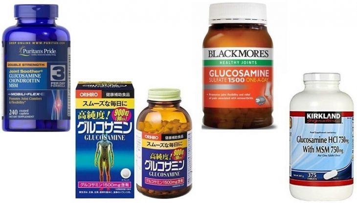 Thuốc thoái hóa khớp Glucosamine có tác dụng tái tạo mô sụn hư tổn và cải thiện khả năng hấp thu canxi của cơ thể