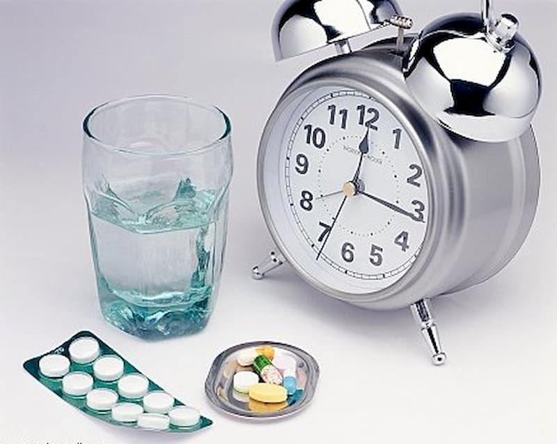 Thời điểm uống thuốc rất quan trọng