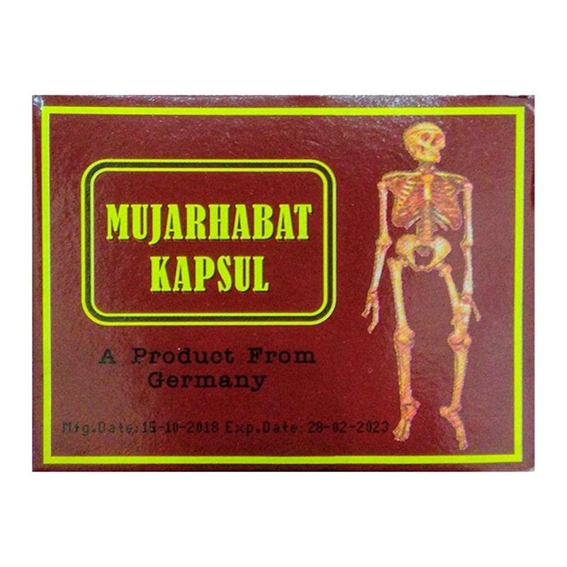 Thuốc xương khớp Malaysia Đỏ - Mujarhabat Kapsul