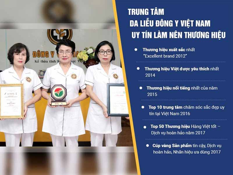 Trung tâm Da liễu Đông y Việt Nam là đơn vị đi đầu trong điều trị các bệnh Da liễu bằng Y học cổ truyền