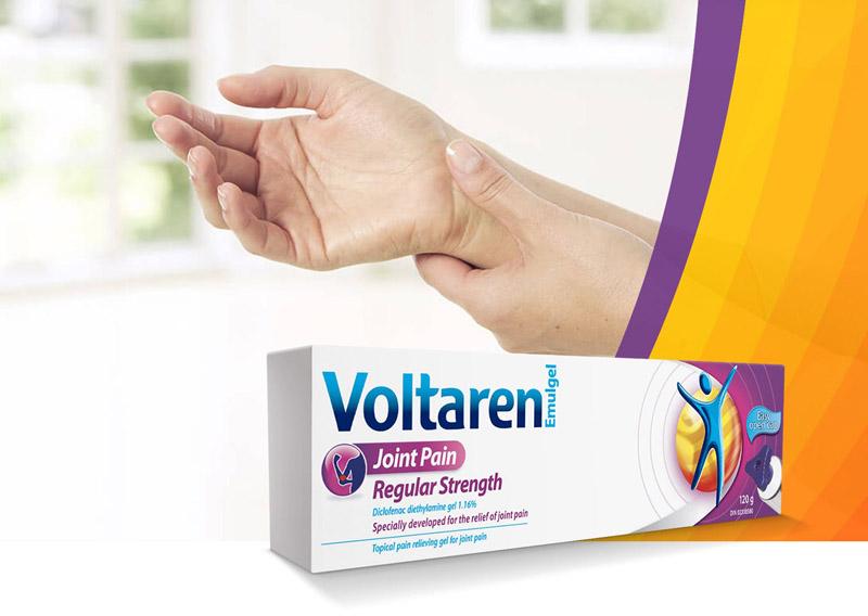 Voltaren giảm đau hiệu quả