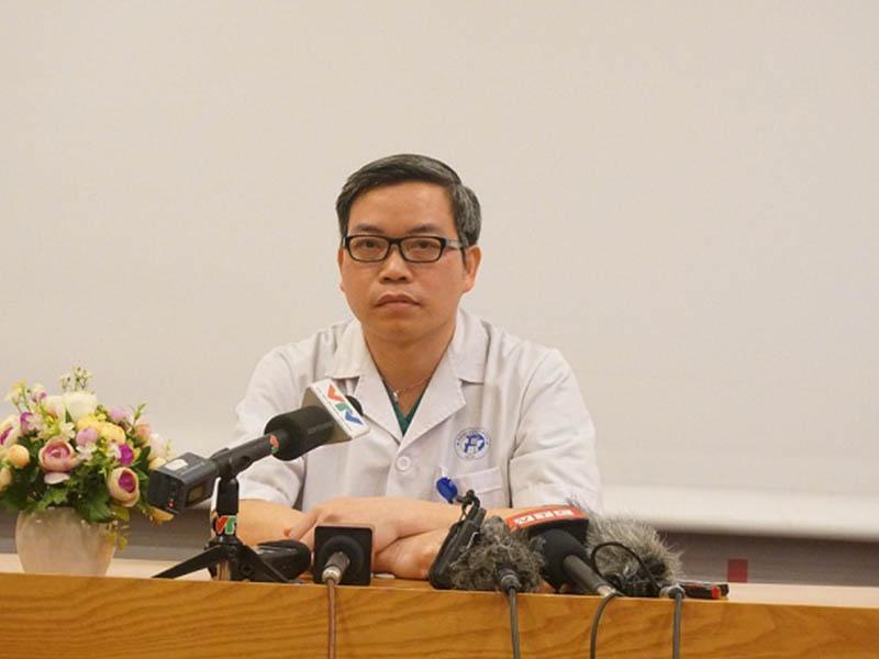 Phó giáo sư Trần Trung Dũng đang tham gia giảng dạy tại Đại học Y Hà Nội