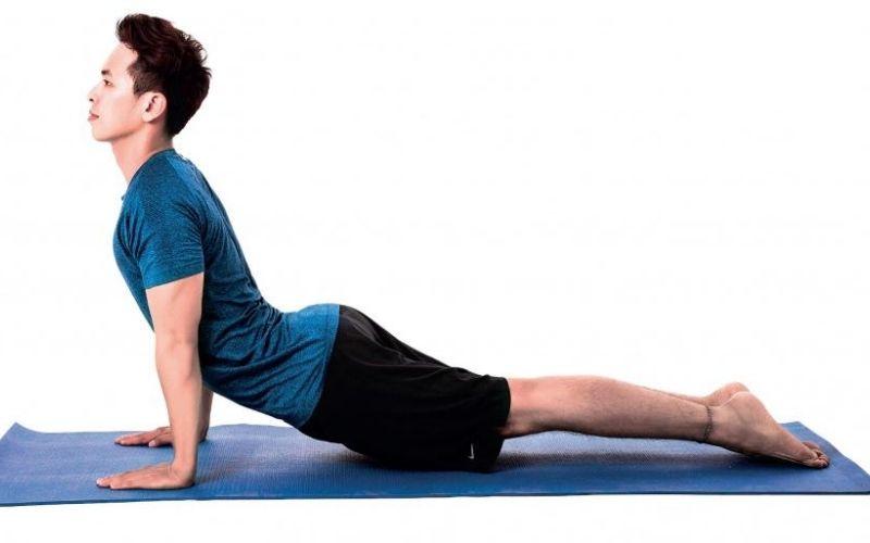 Bài tập chữa yêu sinh lý nam Yoga giúp nam giới kiểm soát được các bó cơ ở phần thân dưới