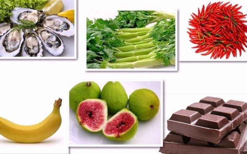 Một số loại thực phẩm phù hợp cho nam giới yếu sinh lý